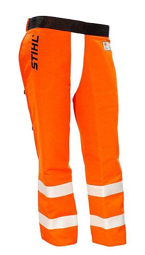 Government & Utility Protective Chaps - Hi Vis Orange