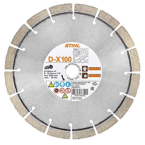 "9""Diamond cutting wheel,  universal, DX 100"