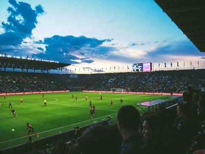 Fußballstadion Tribüne, Spielfeld