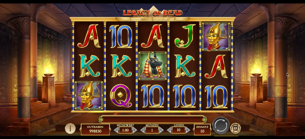 Slot Legacy of Dead