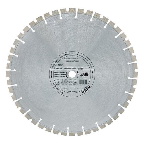 Diamond cutting wheel - Concrete / Asphalt (BA)