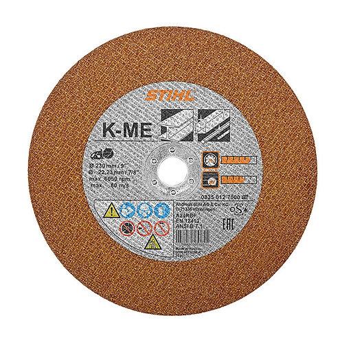 Abrasive cutting wheel - steel for TSA 230