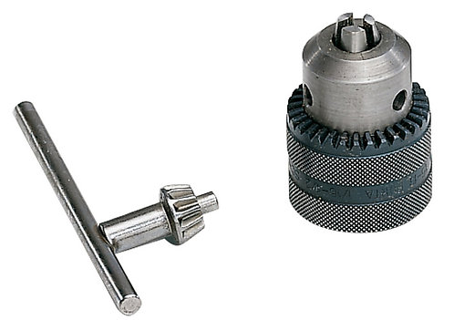 Drill chuck and key