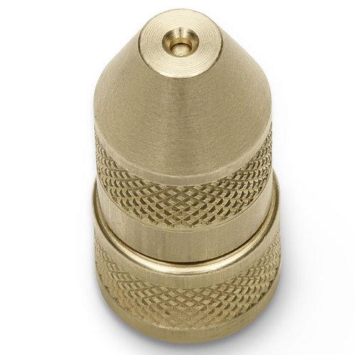 Adjustable nozzle brass