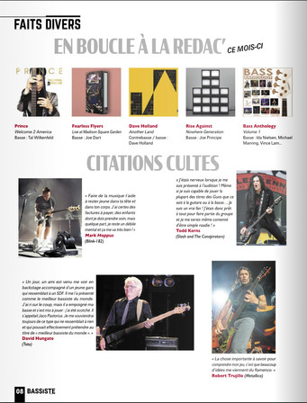 Albums of the month - Bassiste Magazine 2021