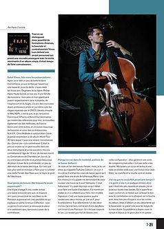 Bassiste Magazine Vince LAM