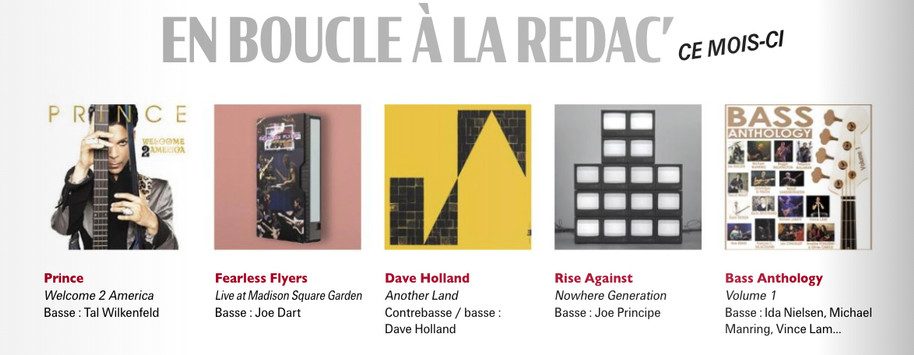 Bassiste Magazine 2021 -Albums of the month
