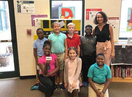 13WMAZ Visits Ridge Road Elementary STEAM Students