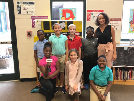 13WMAZ Visits Ridge Road Elementary STEAM Students