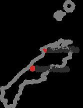 Map of Shimane
