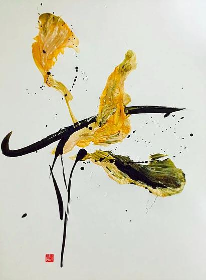 Flower 2 (Gold)