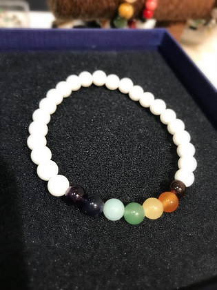 "Collection ""CHAKRA"" - Bracelet 'Sérénité'"