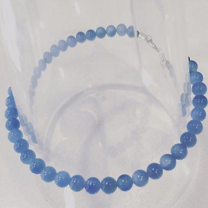 BRACELET CELESTINE BLEU / BLUE 4MM