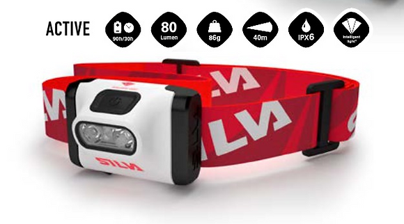LAMPE FRONTALE / HEADLAMP ACTIVE By Silva