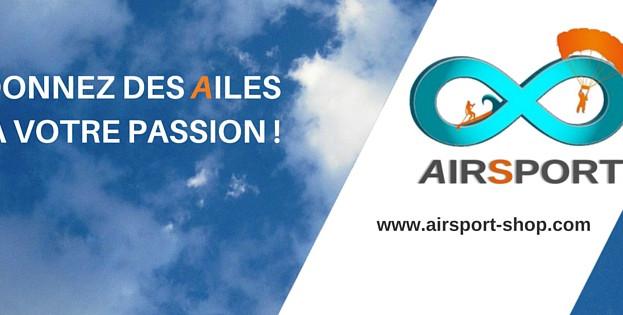 AIRSPORT, BIENTOT VOTRE BOUTIQUE PASSION A PARIS