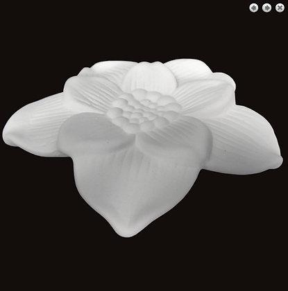 FLEUR EN PLATRE / PLASTER FLOWER