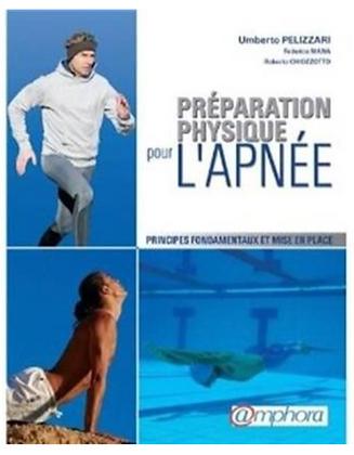 """Livre """"Préparation physique pour l'apnée"""" Ed Amphora"""