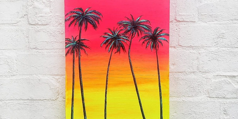 ART SIPPERS - Neon Sunset