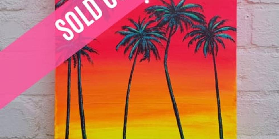 ART SIPPERS - Neon Sunset + *STARLIGHTS*