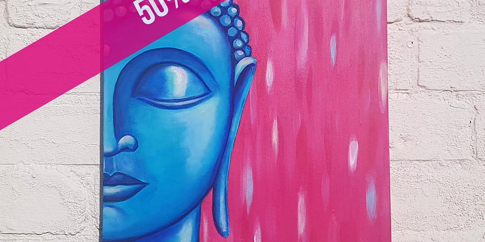 ART SIPPERS - Blissful Buddha