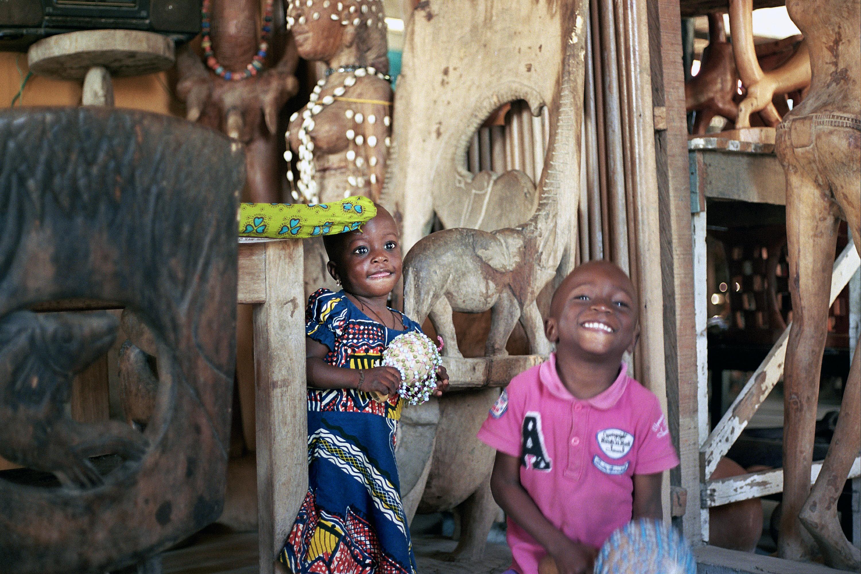 portrait enfant Afrique