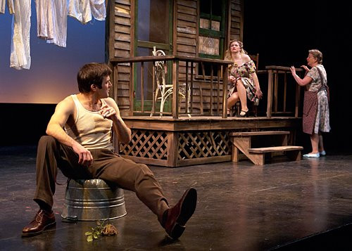 Babydoll in Hidden Tennessee at Portland Stage Company  Photo by Darren Setlow