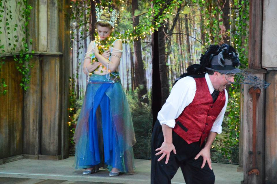 Titania in A Midsummer Night's Dream with Shakespeare Kennesaw