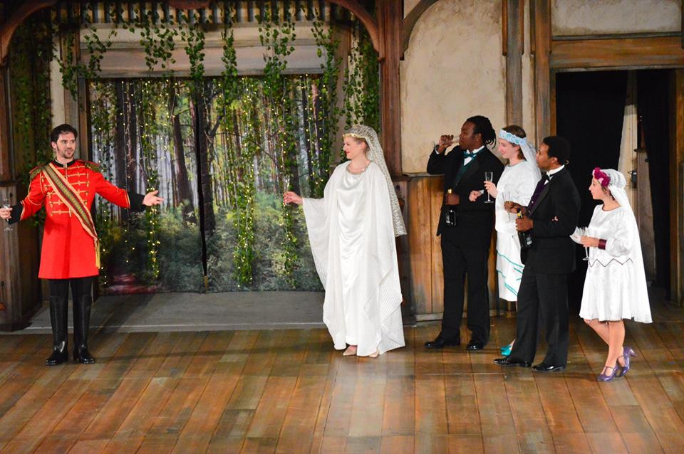 Hippolyta in A Midsummer Night's Dream with Shakespeare Kennesaw