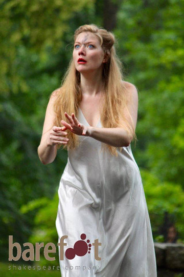 Lady Macbeth in Macbeth with Barefoot Shakespeare Company  Photo by Jillian Musarskiy