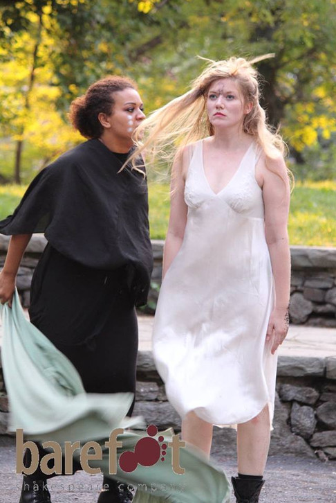 Lady Macbeth in Macbeth with Barefoot Shakespeare Company  Photo by Jillian Musarskiy