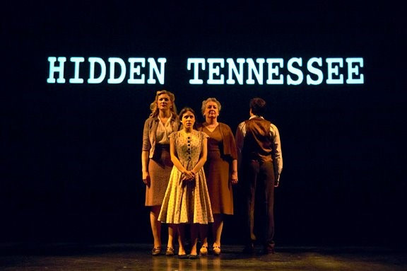 Myra/Babydoll in Hidden Tennessee at Portland Stage Company  Photo by Darren Setlow