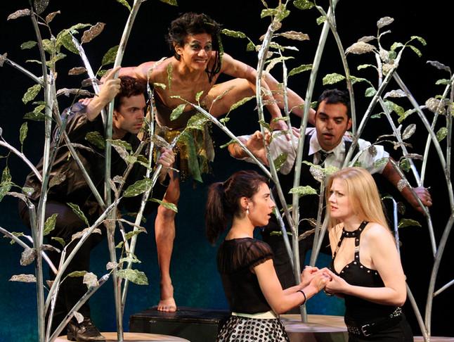 Helena in A Midsummer Night's Dream at Orlando Shakespeare Theater  Photo by Tony Firriolo