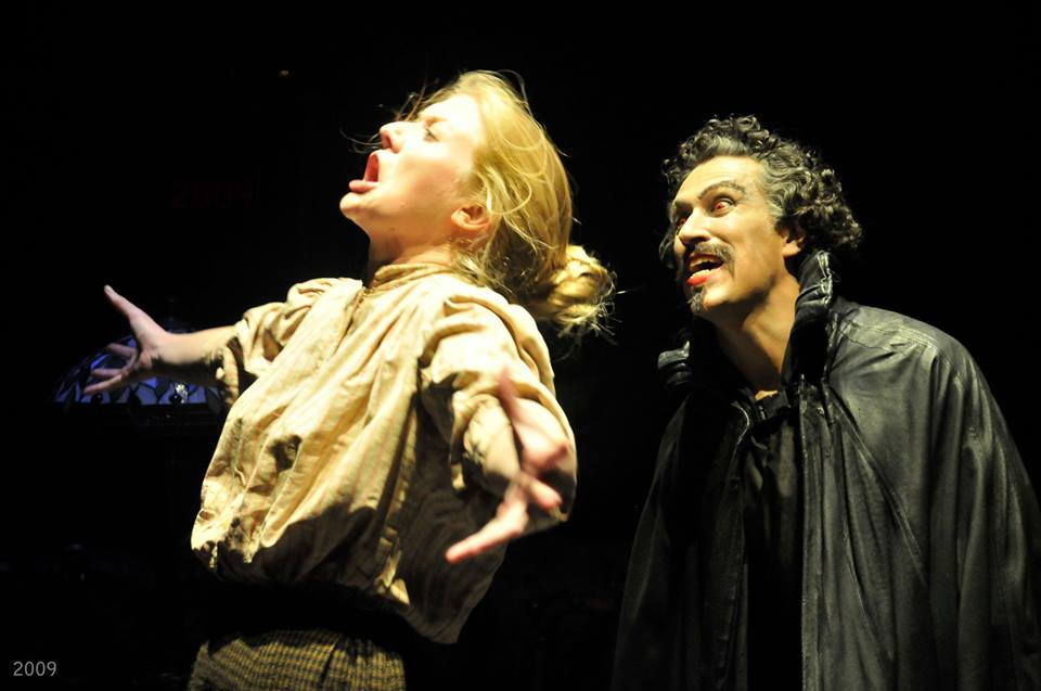 Miss Sullivan in Dracula at Actors Theatre of Louisville  Photo by Bill Brymer