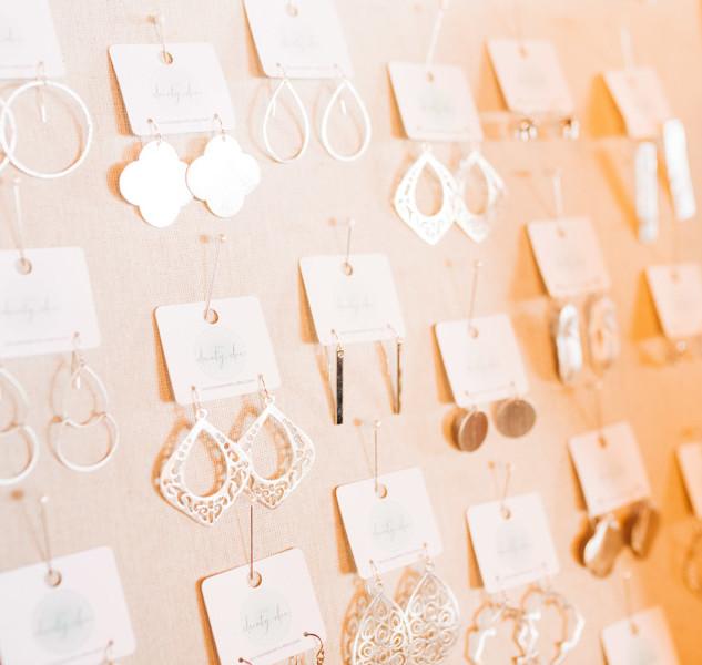 earrings jewelry for sale at boerne handmade market