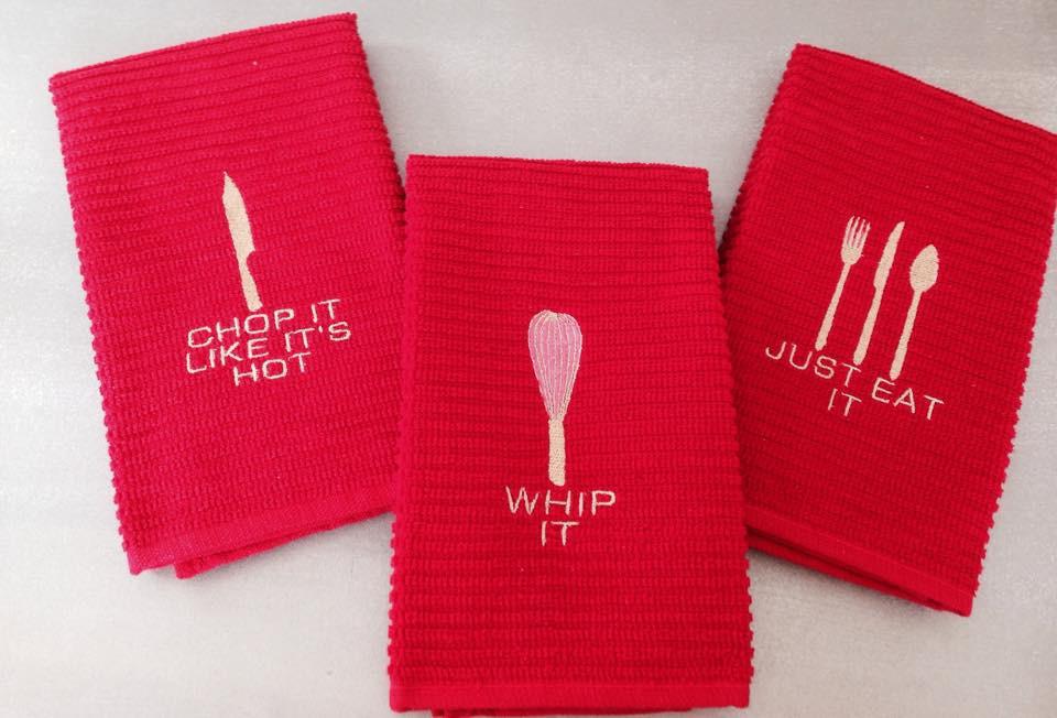 Faith and Grace red towel.jpg