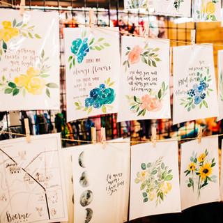 art prints and home decor for sale at boerne handmade market