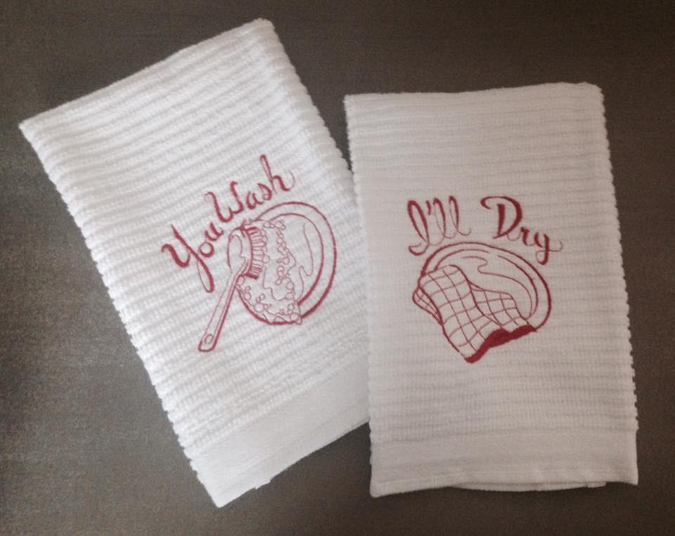 Faith and grace white towel.jpg