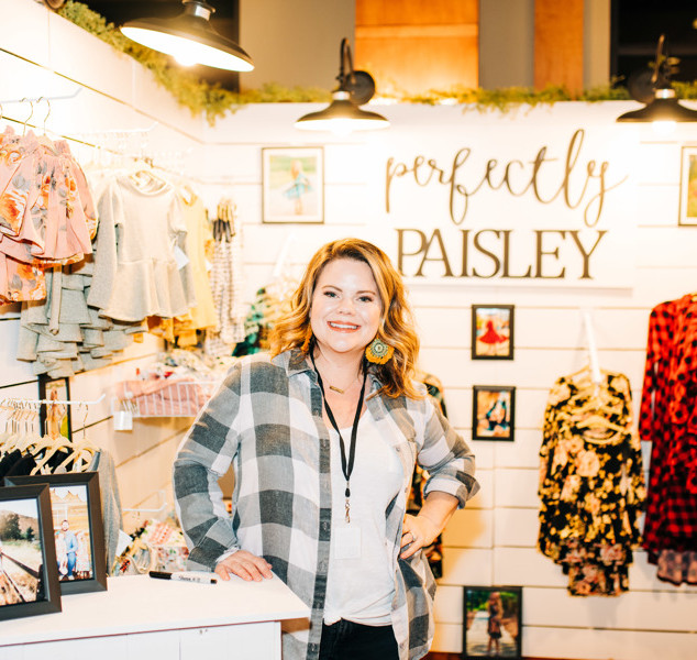 vendor perfectly paisley offers baby, toddler, and kids clothes at boerne handmade market