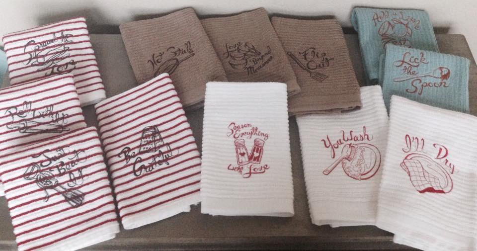 Faith and Grace group towels.jpg