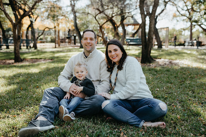 boerne handmade market owner beth legge and family