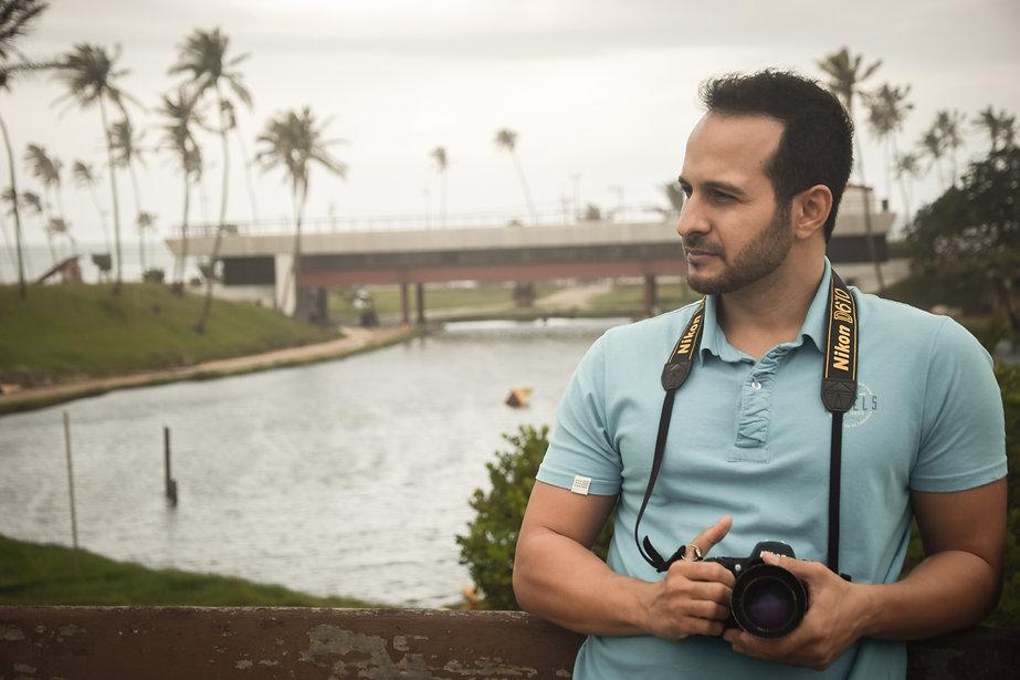 História sobre como Neo Santana se tornou fotógrafo