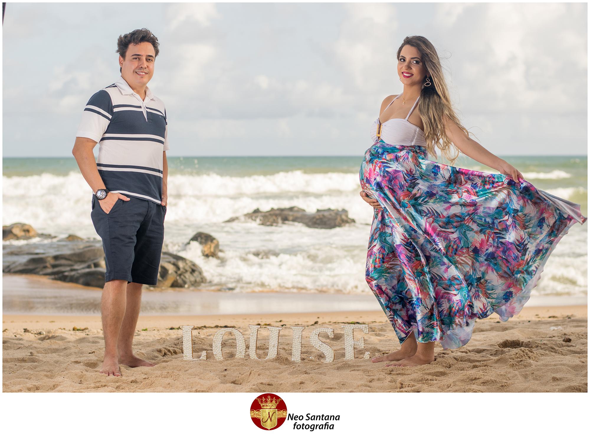 Foto Gestante de Dêbora e Fernando