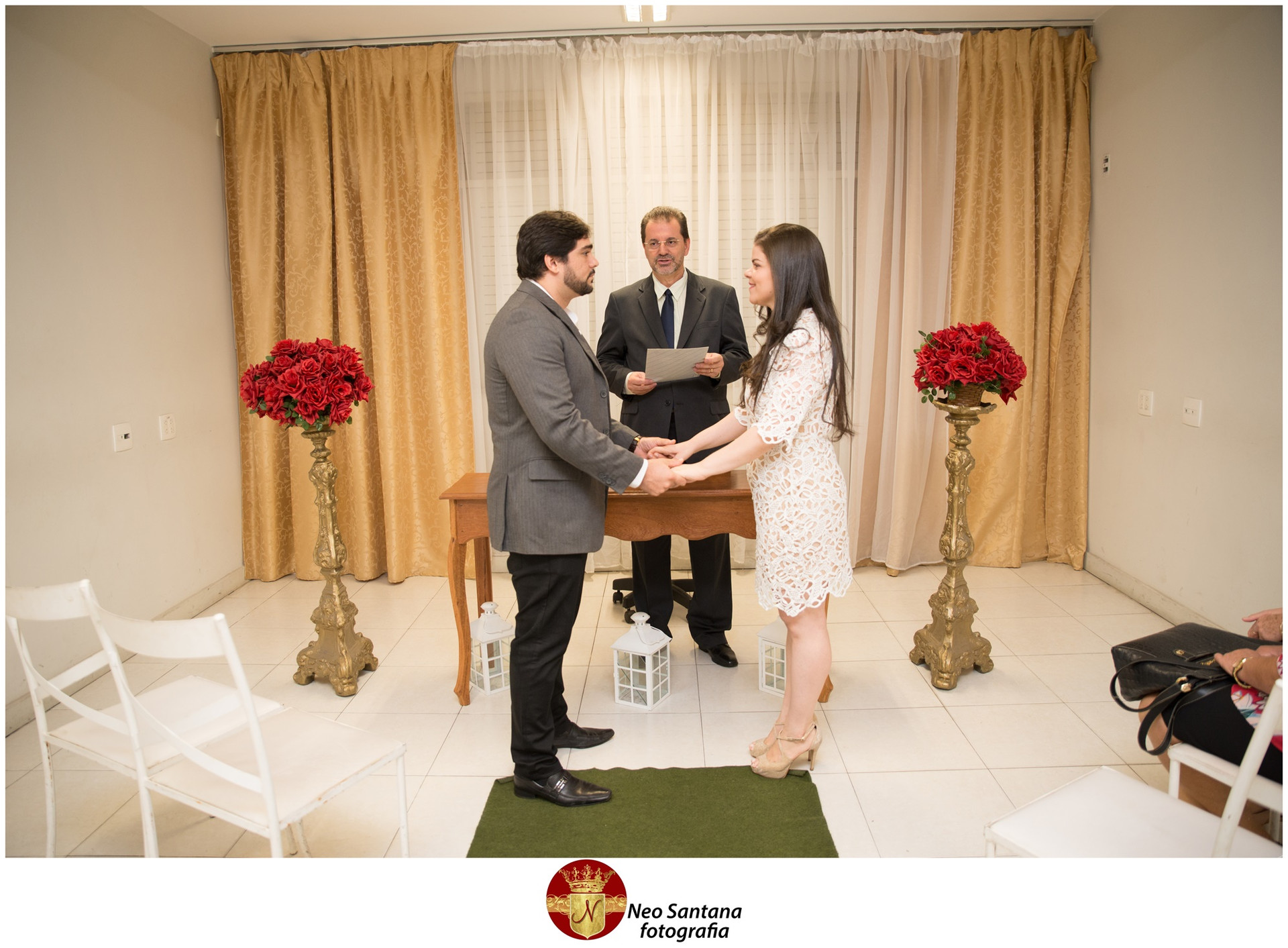Fotos do Casamento Civil de Marcos e Gardênia