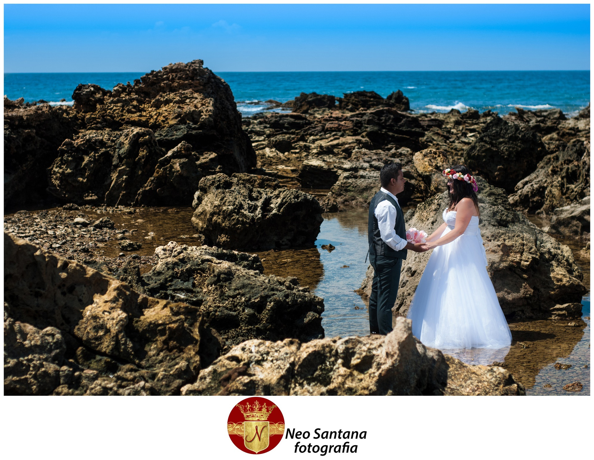 Fotos da Sessão Trash the Dress Elines e Natanael