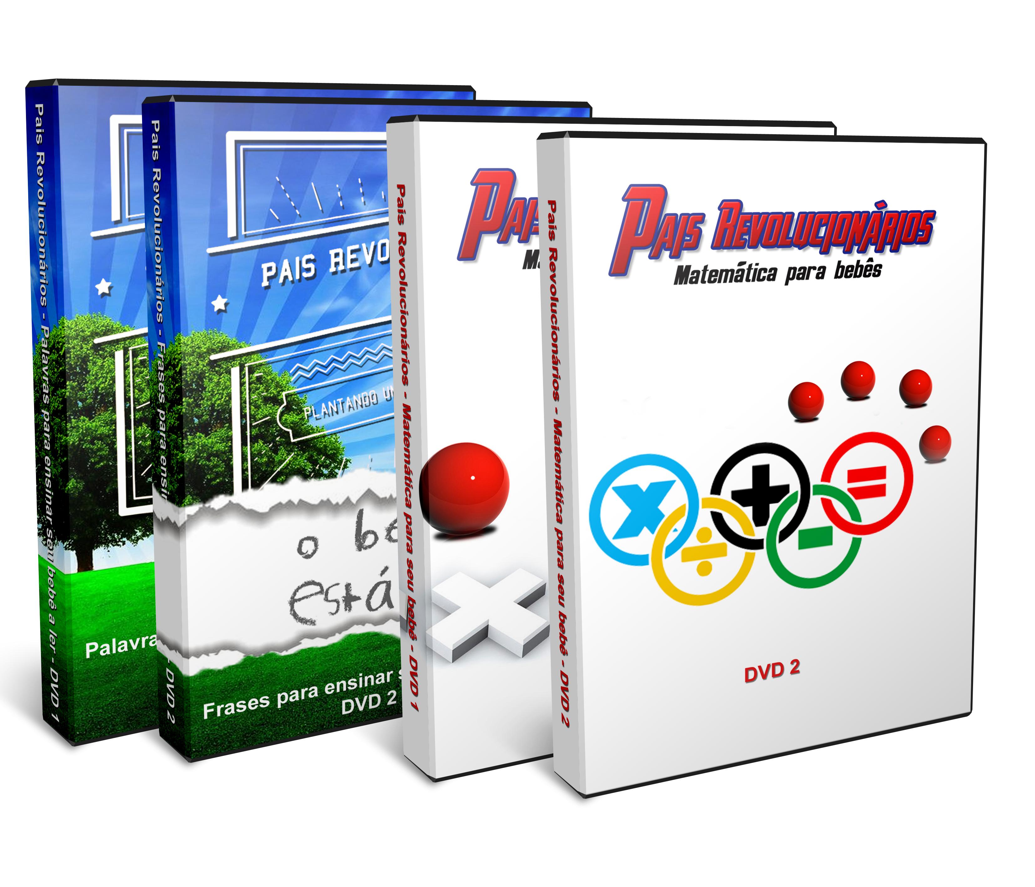 Pacote DVD - Leitura e Matemática
