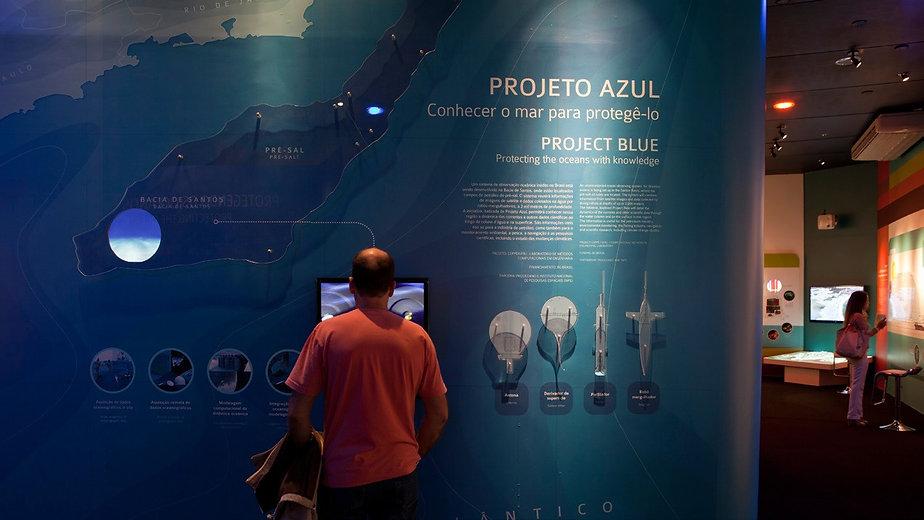 Estande COPPE- Rio + 20: Projeto Azul