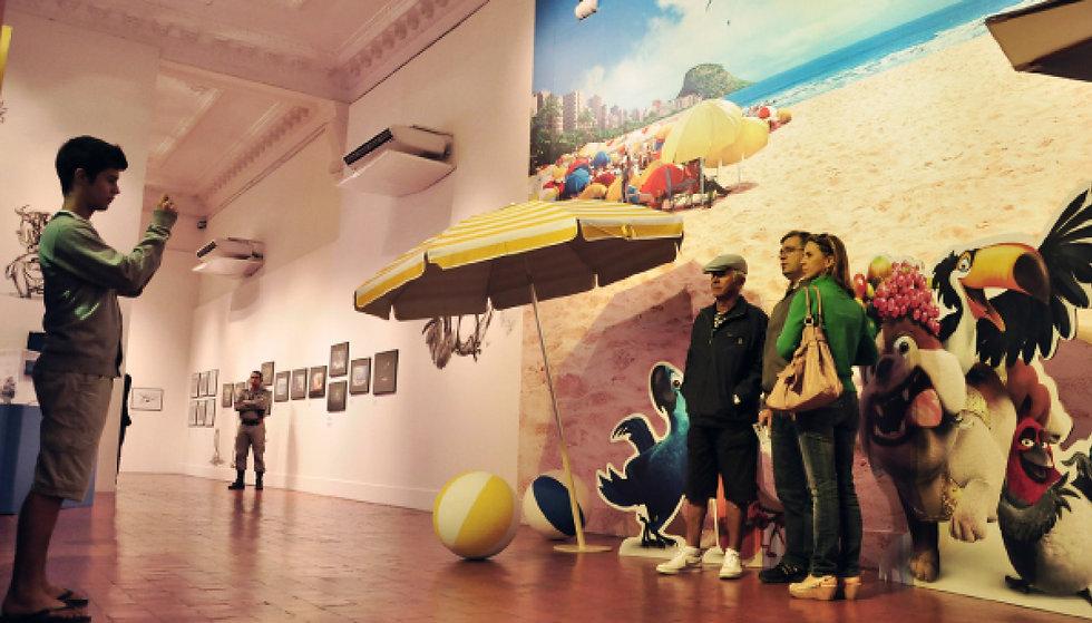 Rio - A arte da animação: Fotografia