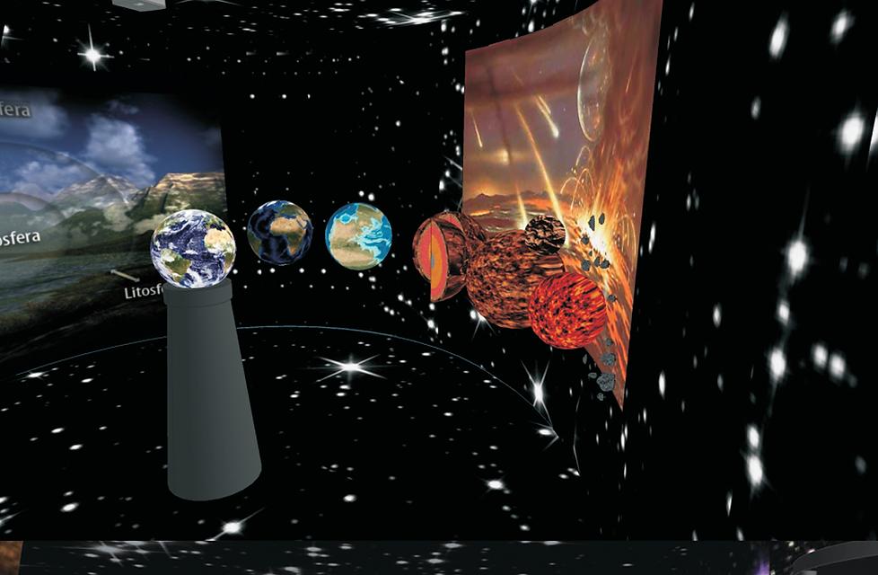 Museu de Ciência e Tecnologia: Tempo Geológico