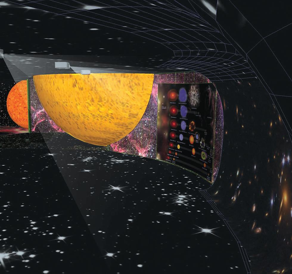 Museu de Ciência e Tecnologia: Big Bang