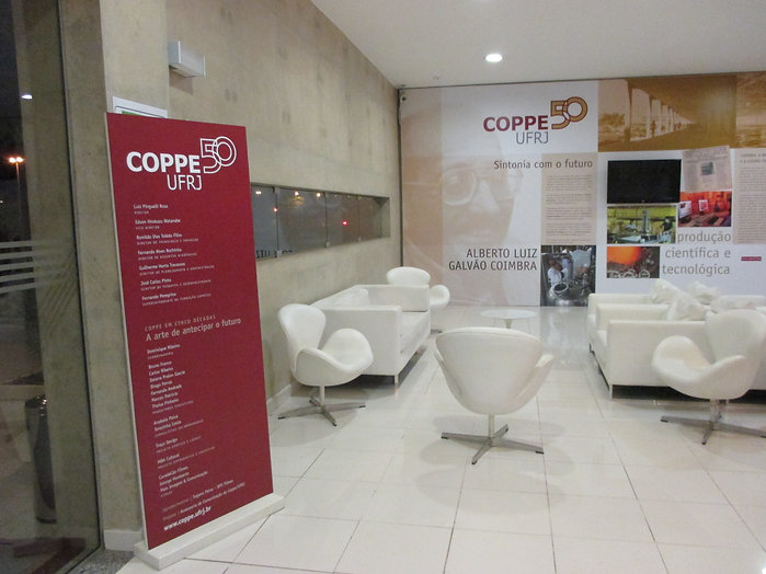 COPPE 50 UFRJ - Sintonia com o futuro: Alberto Luiz galvão Coimbra